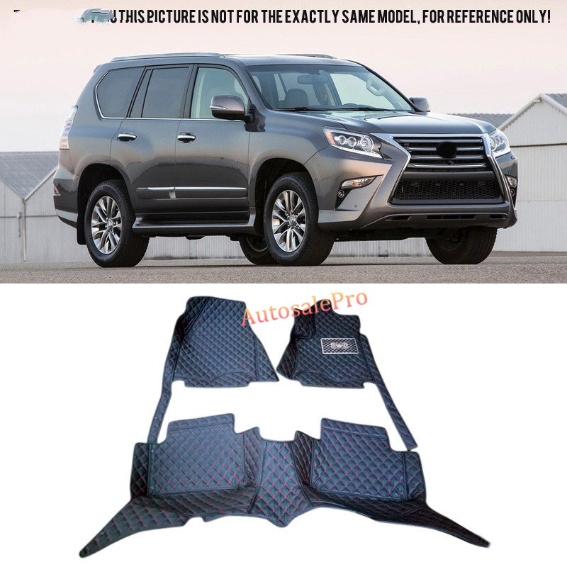 Left /Right Hand Drive For Lexus GX J150 2010 2011 2012 2013 2014 2015 black red Car Floor Mat carpet front rear Pad cover