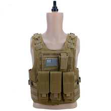 лучшая цена 2019 Promotion Special Offer Outdoor Tactical Vest Military Enthusiasts Amphibious Anti-war Equipment Cs Multi-color Optional
