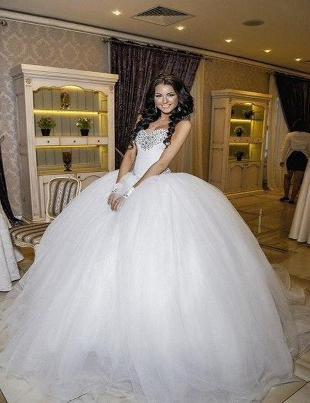 Big Poofy Tulle Wedding Dresses – fashion dresses