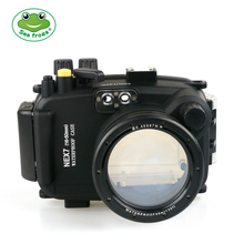 For Sony NEX 7 16-50mm Camera Photography Underwater 40m Protective Housing Waterproof Case Diving Shooting Impermeable Box Bag fimax 10 pcs for dymo d1 label printer ribbon dymo 45013 12mm dymo d1 label tape black on white s0720530 for dymo d1 label maker