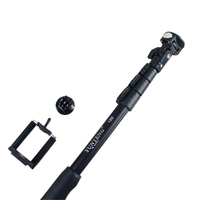 Yunteng 188 Monopod Selfie Stick Aluminum Alloy Telescopic Pole For Xiaomi Yi GoPro Hero 2