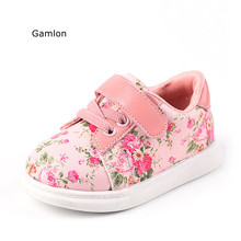 Gamlon Baby's Sneakers 2017 Autumn Small Floral Girls Baby Shoes 1-3 Year Boys Leisure Board Shoes Infant School Firstwalkers