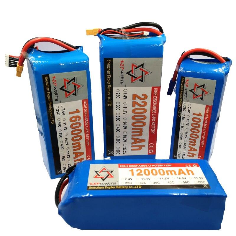 3 S 11.1 V haute puissance RC LiPo batterie 10000 12000 16000 22000 mAh 35C pour RC hélicoptère Drone quadrirotor avion voiture batterie LiPo