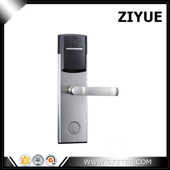 Digital electric RF Card cheap hotel lock and key card for hotel ET104RF intelligent rf card lock system for hotel electric lock