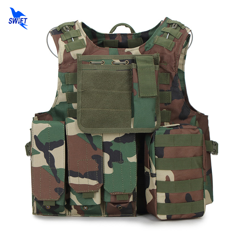 Quick Release Military Modular Molle Tactical Vests 1000D Nylon Oxford Assault Vest Combat Vests Includes Mag Pouch Acessory Bag accessories bag quick tug tactical vest accessory box page 4