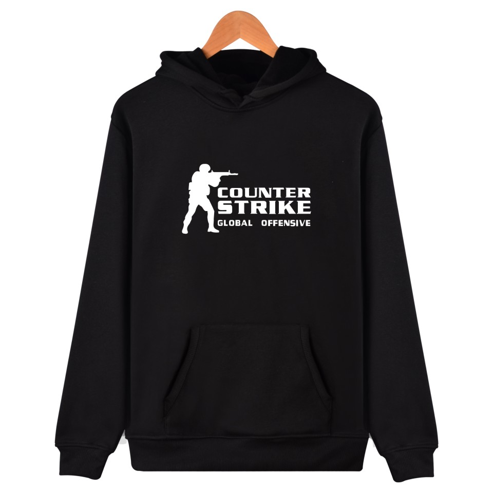 COS GO hoodie with hat Counter Strike Sweatshirts cs go Հագուստ cs Pulloverhe counter strike global հարձակողական բուֆետ շապիկ