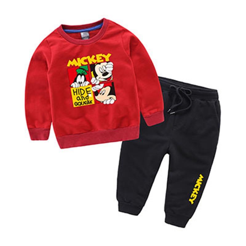 Autumn Winter Warm Jackets For Girls Coats For Boys Jackets Girl Jackets Kids Cartoon Mickey Outerwear Children Baseball Uniform 4