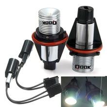 hot deal buy qook 2sets led angel eyes light h8 for bmw e60 e61 e63 e64 e70 x5 e71 x6 e82 e87 e89 z4 e90 e91 e92 m3 e93 angel eyes light