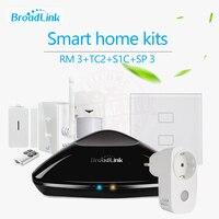 Умный дом автоматизации Broadlink S1/s1c tc2 2 местная wifi выключатель света Умный RM2 RM Pro Universal интеллектуальный контроллер spmini