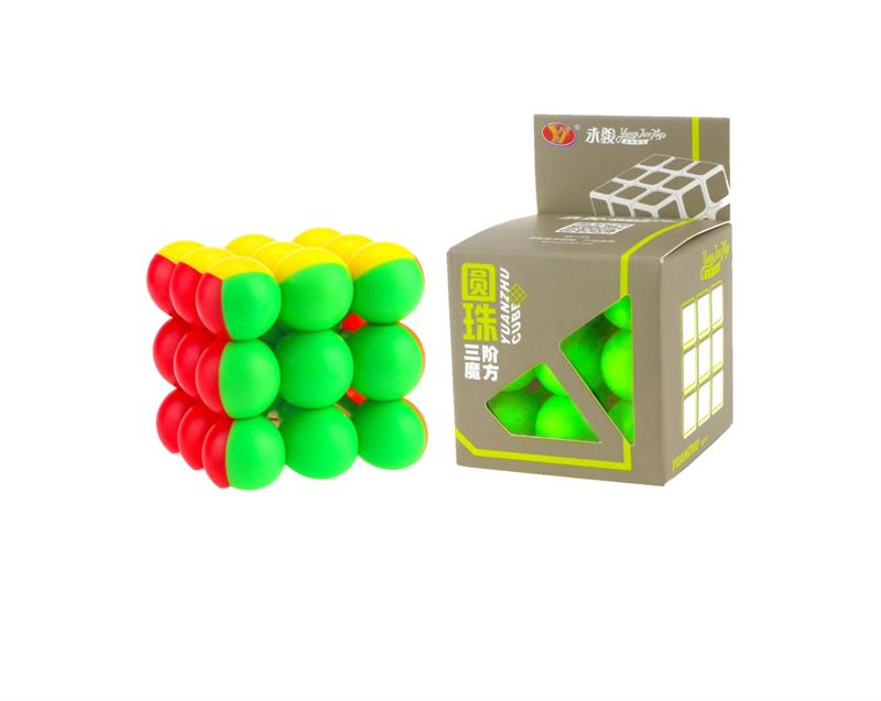 YJ Classic Toys Cube 3x3x3 Bloque Puzzle Ball cubo colorido Neo Cube - Juegos y rompecabezas