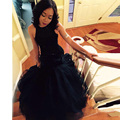 Black Prom Dresses For weddings 2016 New Mermaid Evening Gowns Robe De Soiree Sexy Backless Pearls Party Dresses EE10