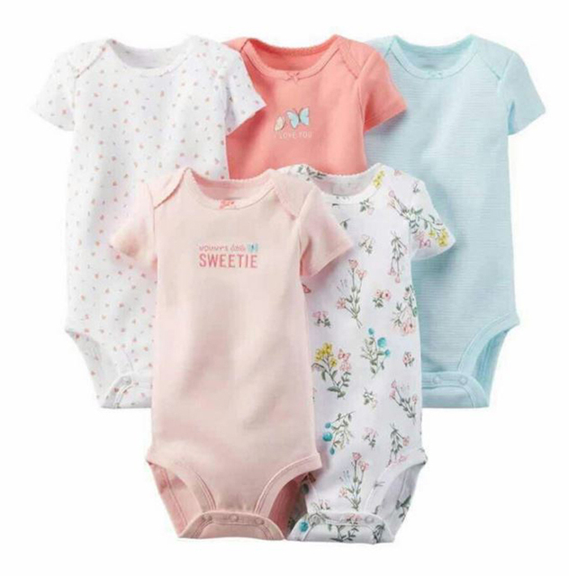 5-Pack Unique Collection of Bodysuits for Baby Boys & Girls | Spring 2017 Collection