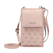 Mini Cross body Shoulder Bags For Women Flower Multifunctional Women Cell Phone Purse Ladies Small Handbags Female Messenger Bag