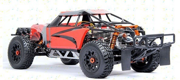 Baja 60cc Twin Engine Most Ful Rc Car Dual With Transmitter Remote Control Gt3b