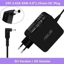 ASUS 19V 3.42A 65W 4.0*1.35 millimetri Laptop AC Power Adapter Caricabatteria Per Asus Zenbook UX310UA UX305CA UX305C UX305UA UX305F