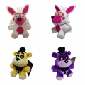 1pcs Five Nights At Freddy's 4 FNAF Freddy Foxy stuffed animals Fox Toys Doll for baby kids christmas dolls