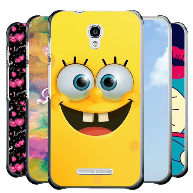 online store 5f373 c3bfc US $2.39 40% OFF|Luxury Painted Cover Case For Alcatel One Touch Pixi First  OT 4024 4024D 4024X Case Back Cover Hard Plastic Phone Bag Skin-in Fitted  ...