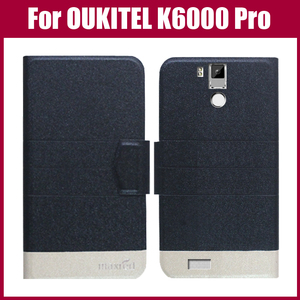 OUKITEL K6000 Pro Case New Arrival 5 Colors Fashion Flip Ultra-thin Leather Protective Cover For OUKITEL K6000 Pro Case