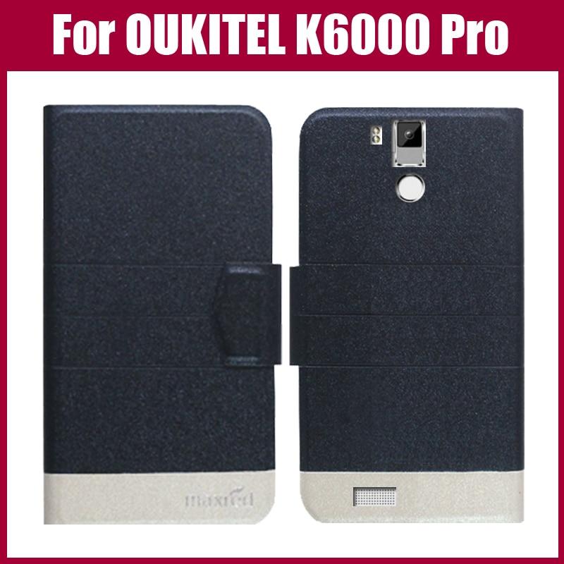 Pouzdro OUKITEL K6000 Pro New Arrival 5 Colors Fashion Flip Ultra tenký kožený ochranný obal pro pouzdro OUKITEL K6000 Pro