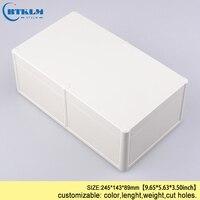방수 정션 박스 투명 하우징 회로 기판 플라스틱 인클로저 diy 전원 공급 프로젝트 상자 245*143*89mm