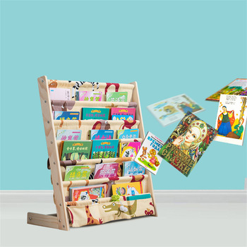 Kid's picture book rack living room  home office furniture toy shelf 1