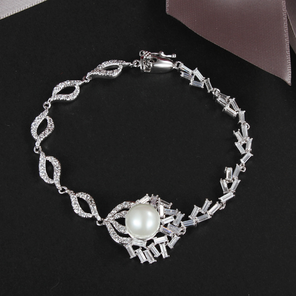 New arrival Hot sell simulated-Pearl women bracelet so beautiful fashion jewelry ALW1672