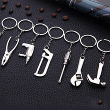 New Metal Adjustable Keychain Creative Tool Wrench Mini Creative Wrench Spanner Key Chain Ring Keyring Gift Jewelry Gift(China)