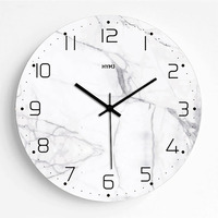 Simple Nordic Wall Clock Wall Watches Home Decor Digital Clock Modern Design Home Decor Best Selling 2019 Products 50Q175