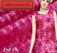 100 Pure Mulberry Soft Satin Rosy Rain Skinny Semi Transparent Silk Stripe Scarf Skirt Scarf Dressmaking