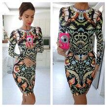 gagaopt 2016 knee length dress longsleeve shealth autumn casual dresses streetwear party dresses