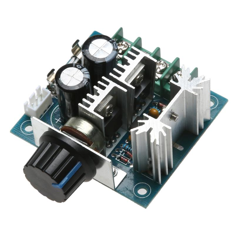 DC Motor Speed Gouverneur 13 khz PWM Controller 10A B100K 12 v 24 v 30 v 40 v Widerstand Motor controller