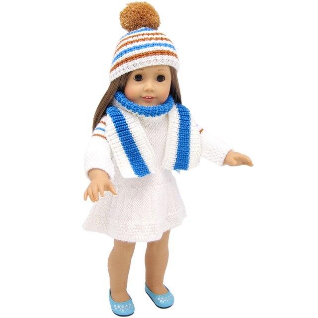 Nueva alta calidad American Girl Doll dolls ropa Accesorios sweater ...