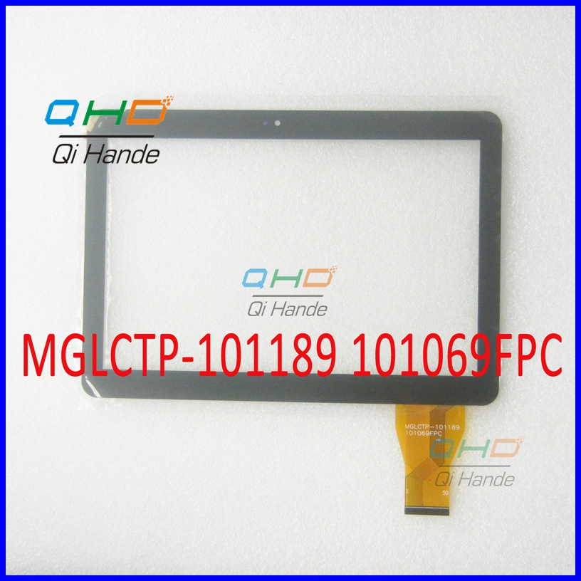Free shipping 10.1'' inch touch screen,100% New for MGLCTP-101189 101069FPC touch panel,Tablet PC touch panel digitizer sensor new 7 inch touch screen digitizer for for acer iconia tab a110 tablet pc free shipping