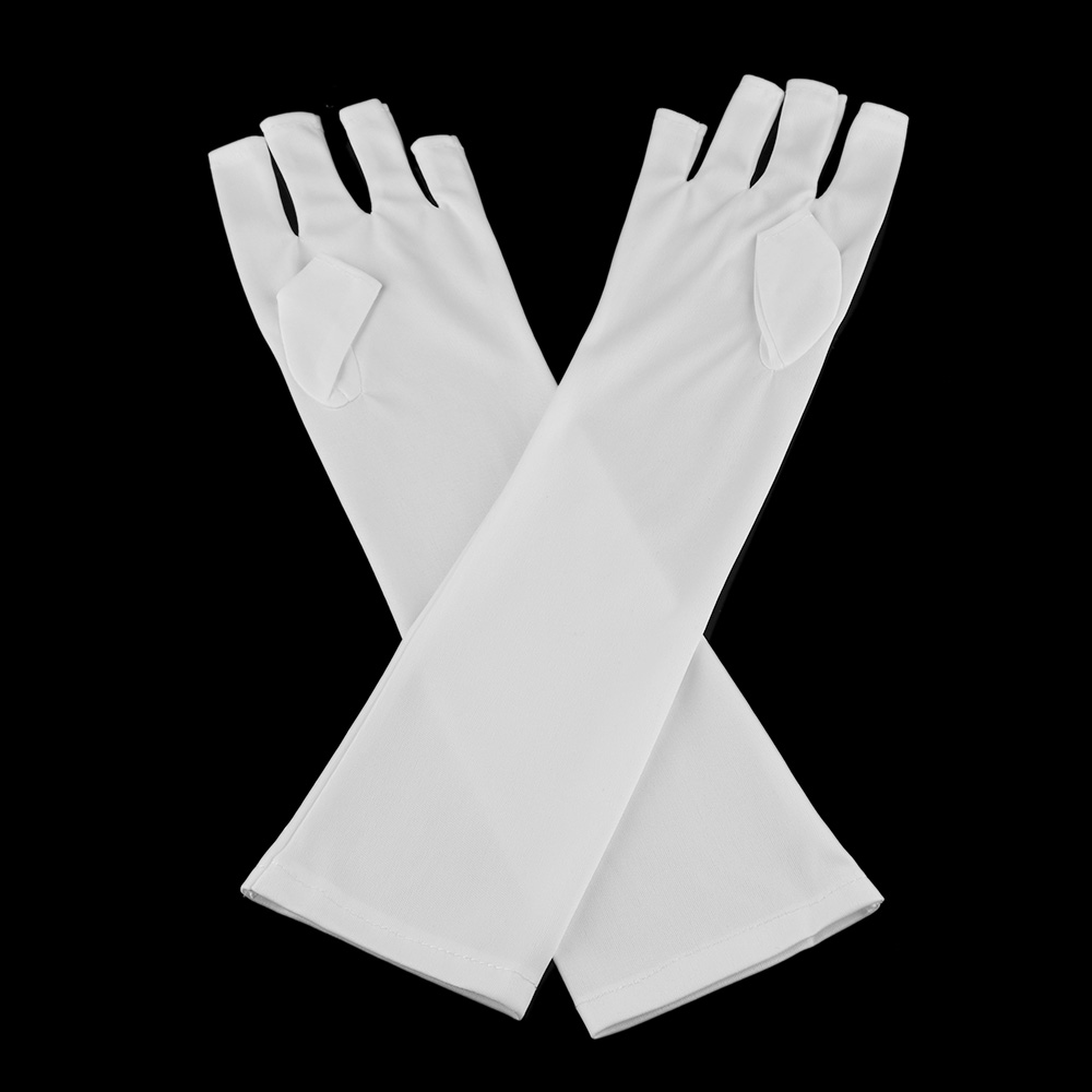 1 Pair Fashion Women Anti UV Glove for Light/Lamp Radiation Protection Gloves Manicure Nail Art Dryer Tools