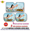 accessories Cartoon Astro boy  front  side window sunshade Foils Windshield Visor Cover UV Protect Car window Film  AT-6B