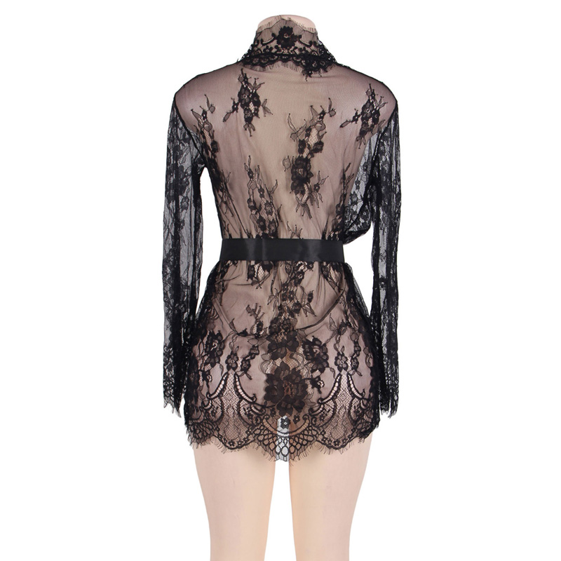 Lace Sleepwear Gown7