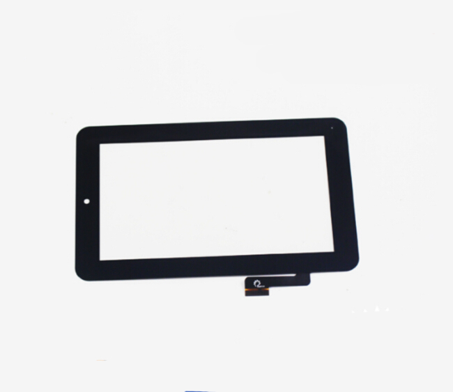 Free Shipping 7'' inch Black Touch Screen Front Glass Digitizer Sensor Replacement F0449X replacement touch screen digitizer glass for lg p970 black
