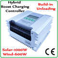 Boost lade funktion Wind Solar Hybrid Controller Regler for12V/24 V 0 ~ 1000 W Solar Panels & 0 ~ 1000 Wind Turbine
