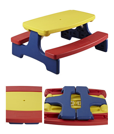 Little Tikes US Small Tektronix Courtyard Infrant Small Picnic Tables And  Chairs Outdoor Childrenu0027s Childrenu0027s Tables
