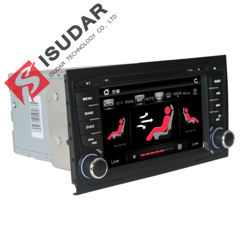 Isudar Car Multimedia Player GPS 2 Din Car Radio Audio A4/S4 Auto Bluetooth 1080P 3G USB Host Ipod Capacitive Touch Screen DVR isudar car multimedia player gps for bmw e46 m3 mg zt rover 75 canbus radio capacitive touch screen dvd player bluetooth ipod