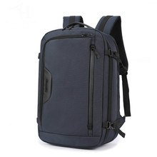 цены на Multifunction Men 15.6 Laptop Backpack Anti Theft Backpack School Notebook Bag Oxford Waterproof Travel Backpacks High Quality  в интернет-магазинах