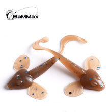 Bammax 10pcs 0.5g 4cm minnow fishing lure fly silicone bait wobblers Artificial swimbaits accessories Tackle