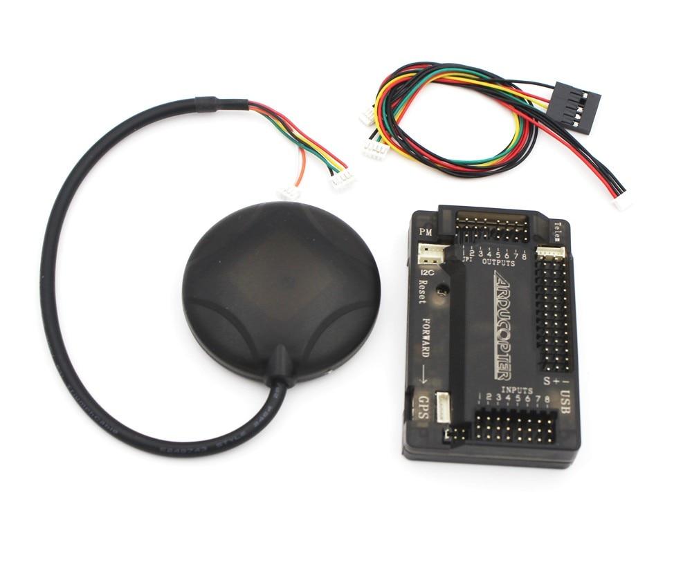 ArduPilot Mega APM2.6 kontroler lotu pokładzie + GPS 6 M z kompasem APM 2.6 dla FPV Multirotor Quadcopter części Arduino w Części i akcesoria od Zabawki i hobby na  Grupa 1