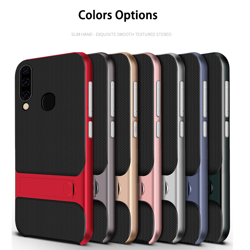 Phone Case for Samsung Galaxy A50 A40 A70 Case A50 Cover Soft Silicon Stand Back Cover for Samsung A70 A30 A20 A10 M30 M10 Cases