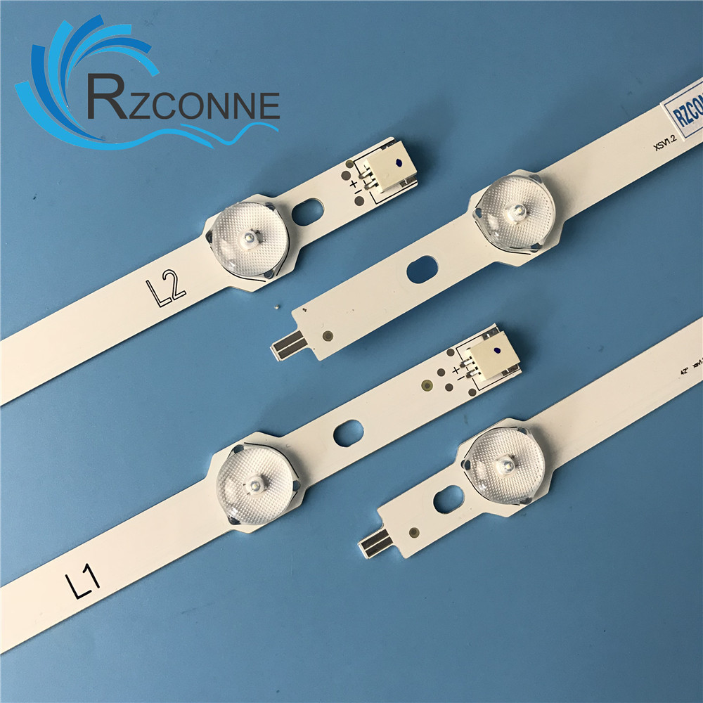 LED Backlight Strip BAR For LG 42inch TV 6916L-1338A 6916L-1339A 6916L-1340A 6916L-1341A 42LN578V 42LN575V 42LN5710 42LN540V