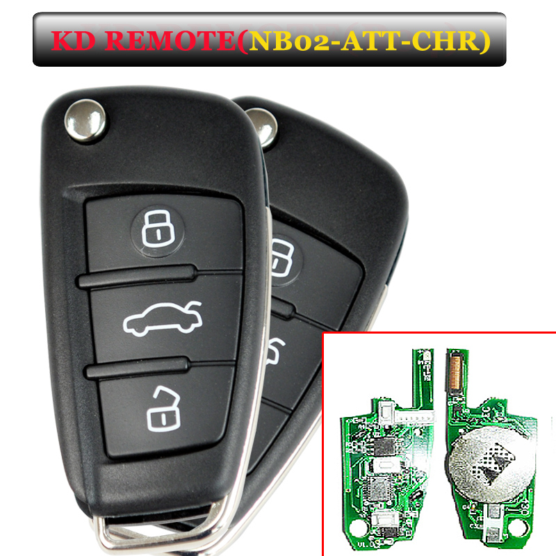 Free shipping NB02 3 button remote key with NB-ATT-Chrysler model for URG200/KD900/KD200 machine 1pcs/lot