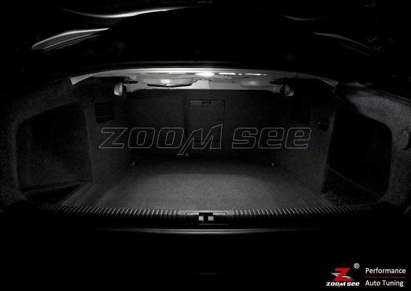 22 шт. x Canbus Error Free светодиодный внутренний купол свет полный комплект для Audi A4 S4 RS4 B6 B7 для салона седана только(2002-2008