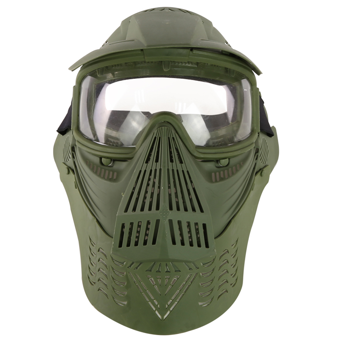 Sports & Entertainment Paintball Accessories Trustful Simple Style Tactical Paintball Mask Soft Bullet Dart Protective Mirror Face Mask For Nerf Camouflage Color