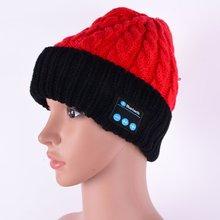 Wireless Bluetooth Smart Cap Soft Warm Beanie Hats Headphone Headset Speaker Mic Hat