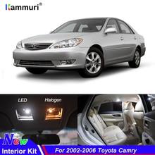 10 шт Нет Ошибка белые светодиодные с CANBUS салона лампы Комплект для Toyota Camry 2002 2003 2004 2005 2006 светодиодный интерьер свет